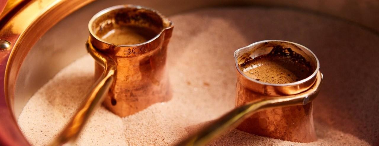 медные турки для кофе по-турецки