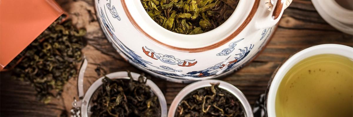 Фото процесса заваривания чая