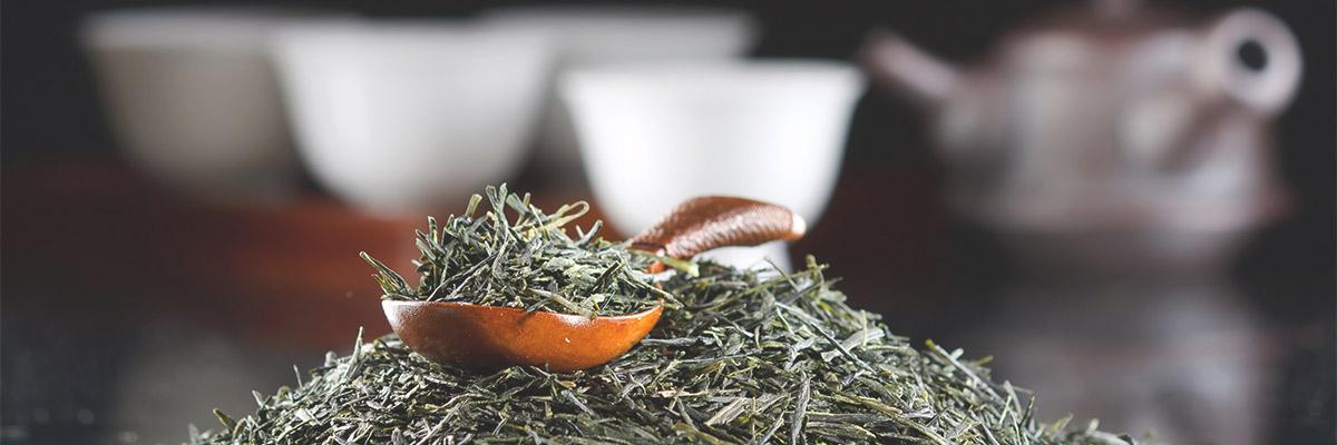 Японский листовой чай