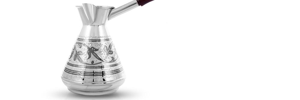 серебряная турка - хороший подарок